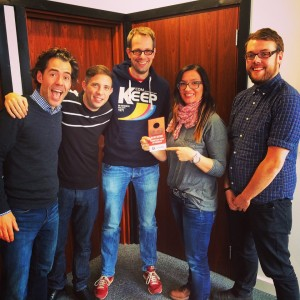 Radio Argovia Session at ReelWorld Europe