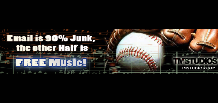 TM STUDIOS Loves Music and Baseball!